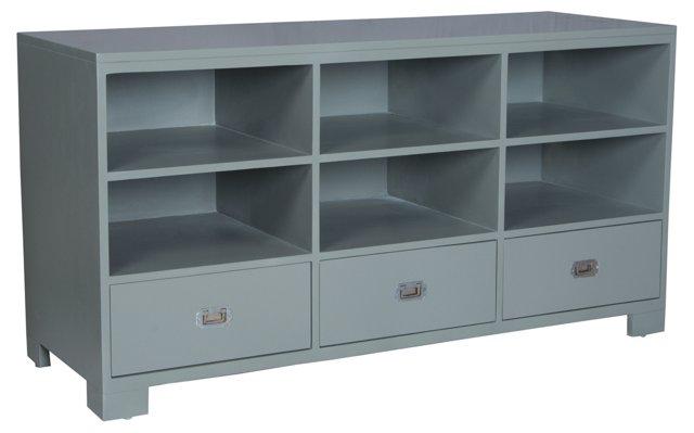 Emilia Storage Cabinet, Gray