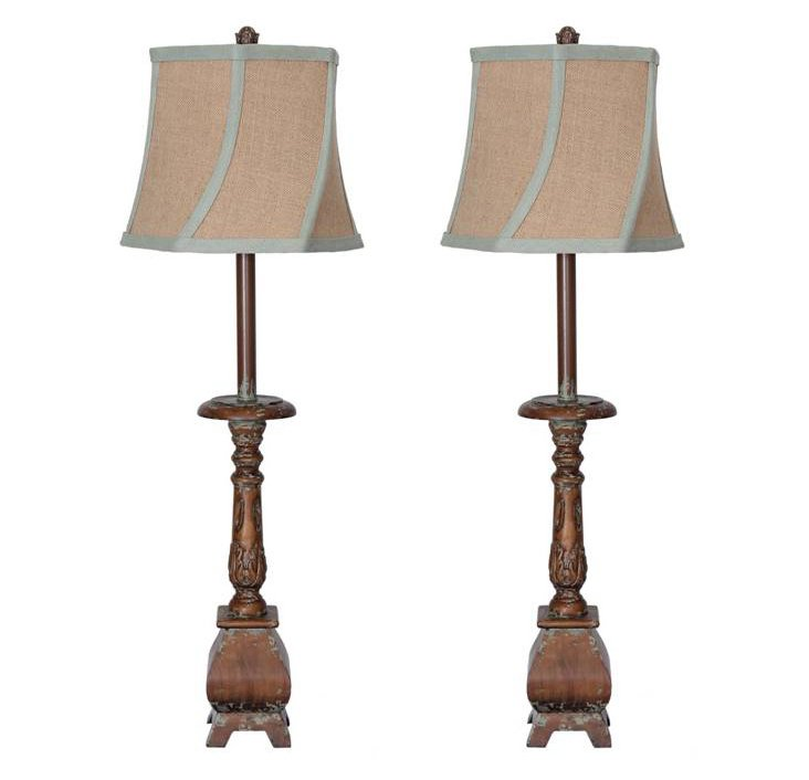 Kenwood Buffet Lamp Set
