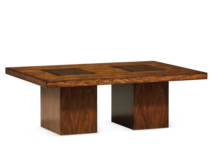 Caracole Double Vision Cocktail Table