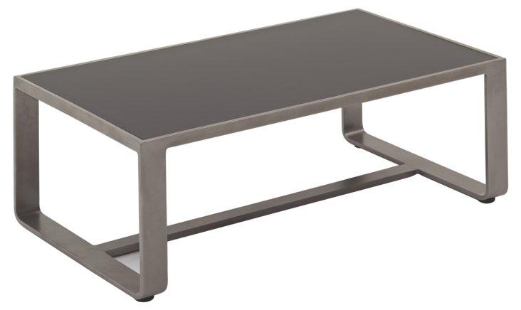 Club Coffee Table, Gray