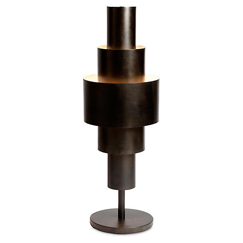 Babylon Table Lamp, Bronze