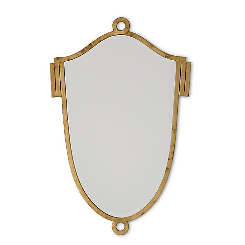 Gustavian Mirror, Gold