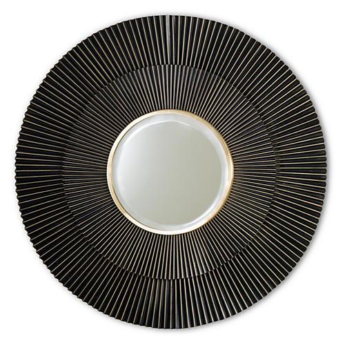 Spokes Sunburst Mirror, Bronze