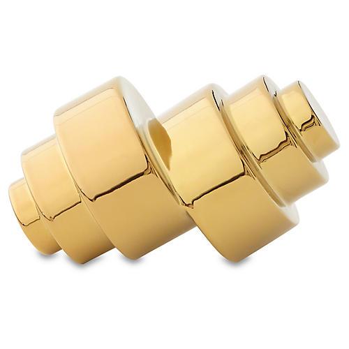 """8"""" Lewitt Object, Gold"""