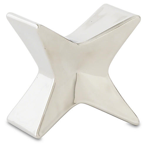 """5"""" Serra Object, Silver"""