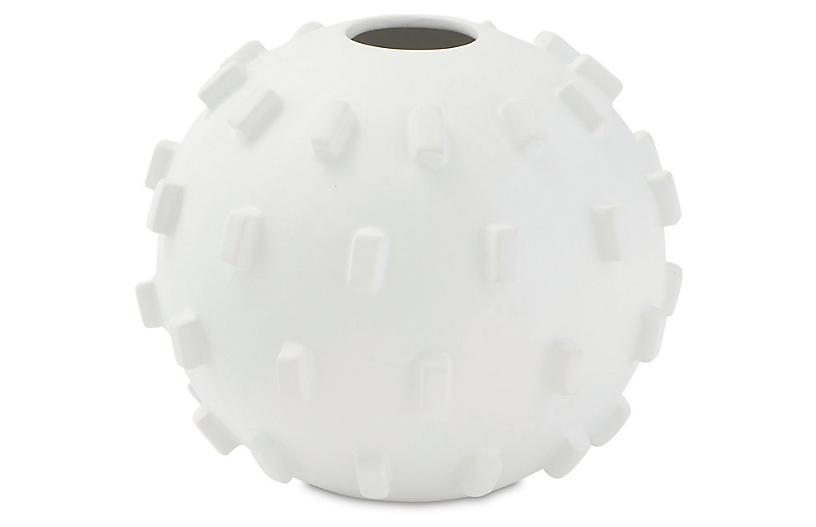 Thielo Decorative Vase - Matte White - Global Views