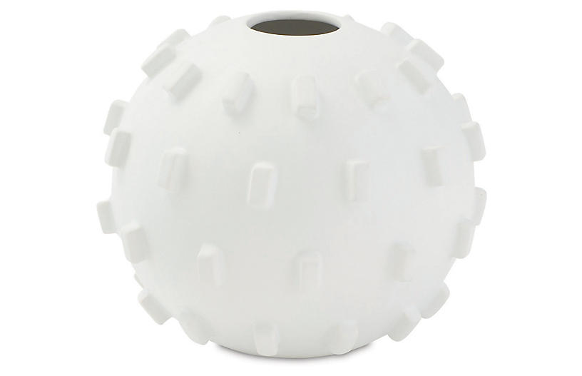 Thielo Decorative Vase, Matte White