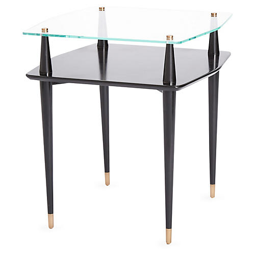 Reveal Side Table, Black