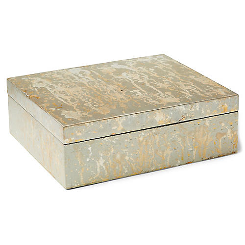 Champagne Box, Silver/Gold