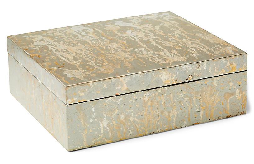 Champagne Box, Silver/Gold