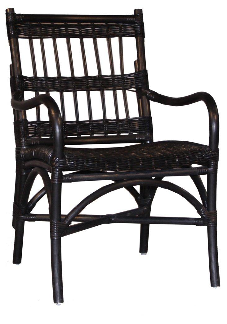 Java Armchair, Black