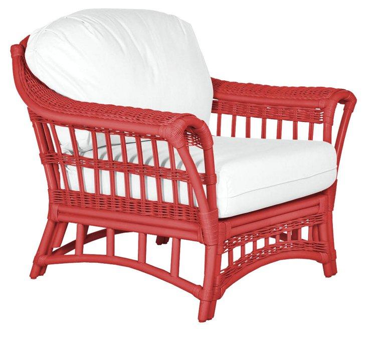 Sullivan Lounge Chair, Red