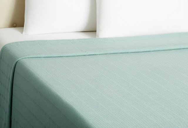Purity Blanket, Mineral Blue