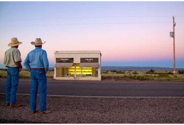 Gray Malin, Prada Marfa, Two Cowboys