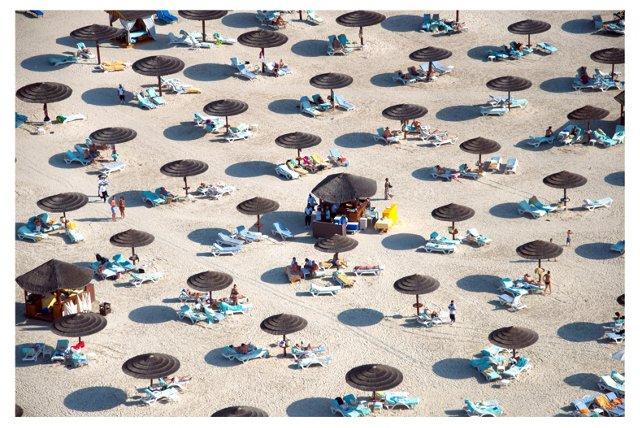 Dubai Beach Umbrellas