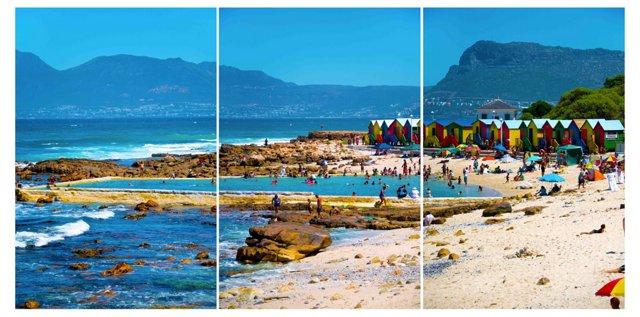 St. James Cape Town Triptych Oversize