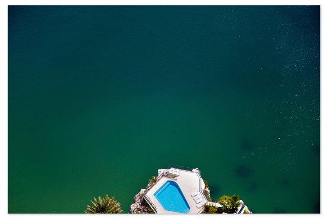 Gray Malin, Amalfi Pool