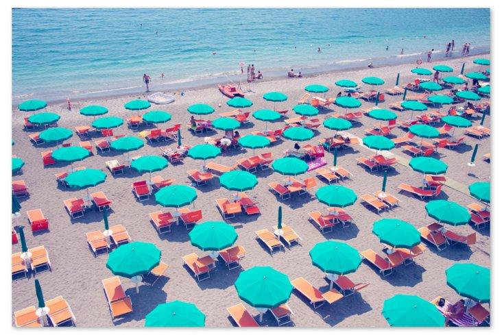 Maiori Umbrellas with Water