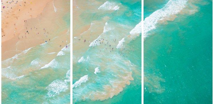 Gray Malin, Australia Ocean Triptych