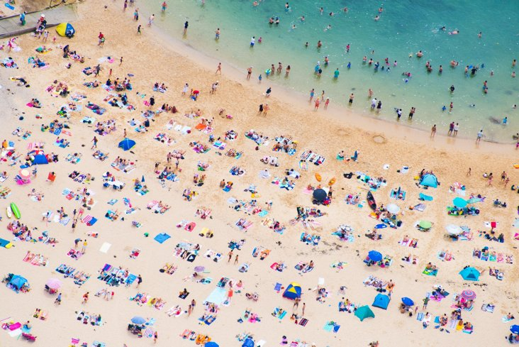 Manly Beach Sunbathers