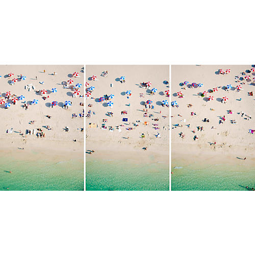 Gray Malin, Dubai Kite Beach Triptych