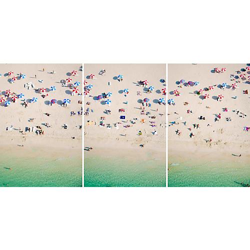 Gray Malin, Dubai Kite Beach Triptych