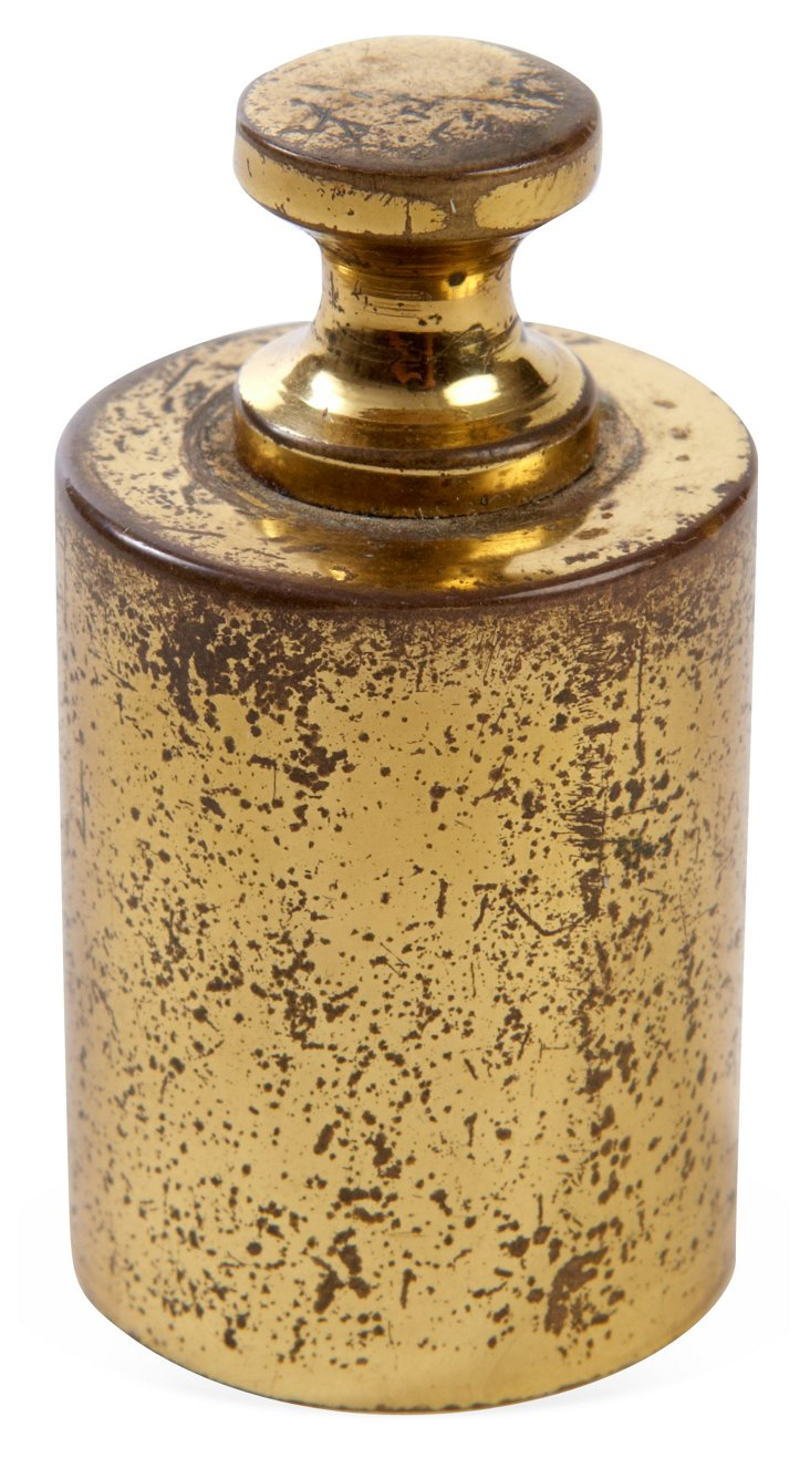 Solid Brass Paperweight