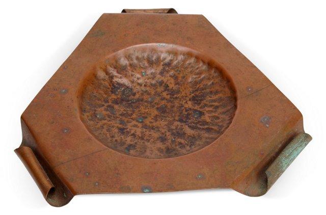 Triangular Copper Tray