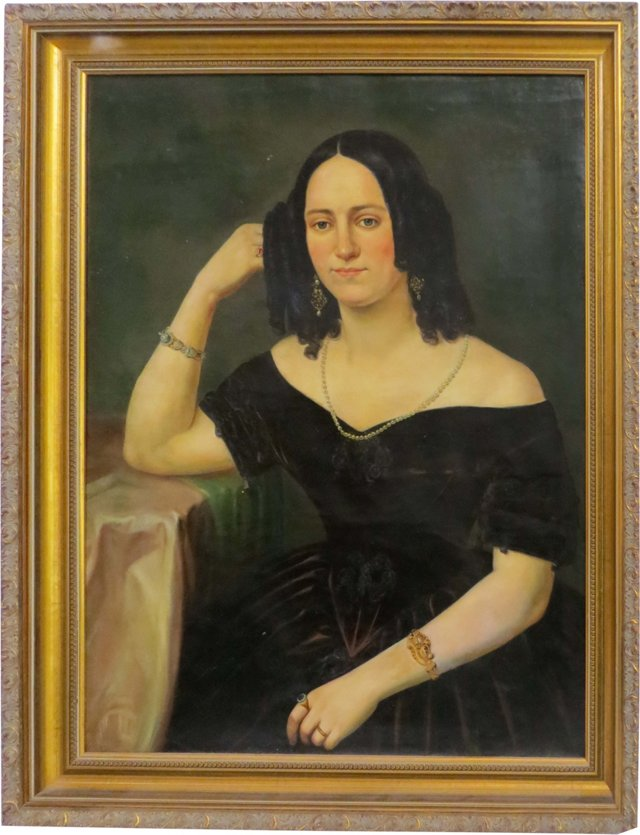 19th-C. Portrait of a Woman I
