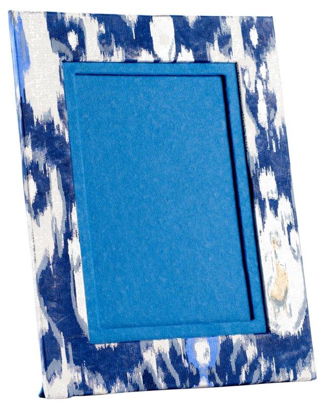 Handmade Paisley Frame, 5x7, Blue