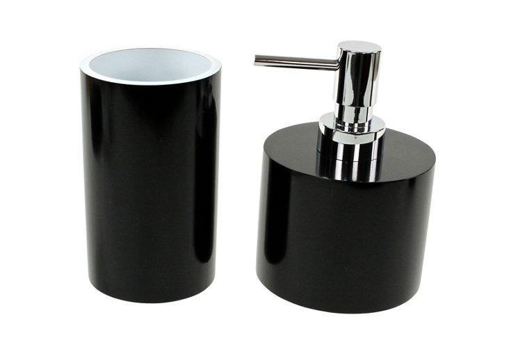 2-Pc Small Piccollo Set, Black