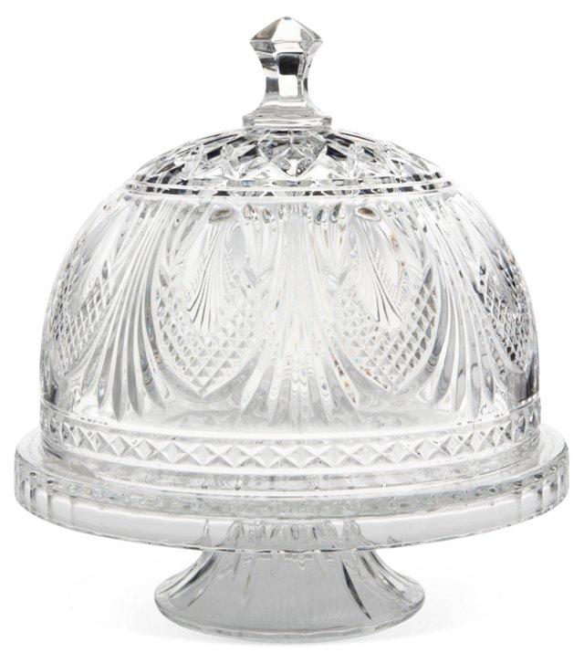 Kensington Cake Plate & Dome
