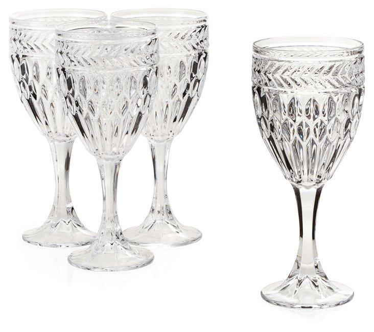S/4 Symphony Crystal Goblets