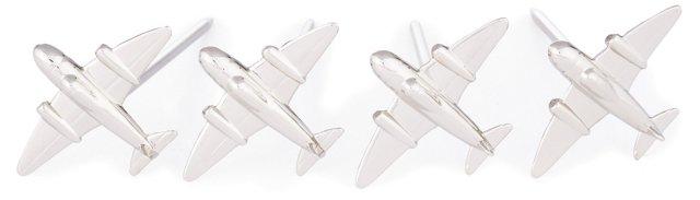 S/4 Airplane Cheese Picks