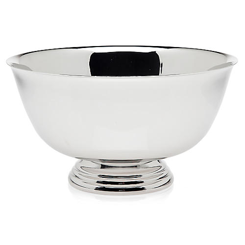 Revere Bowl, Silver