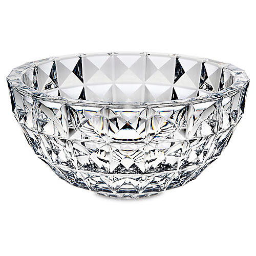 Gallery Serving Bowl, Clear
