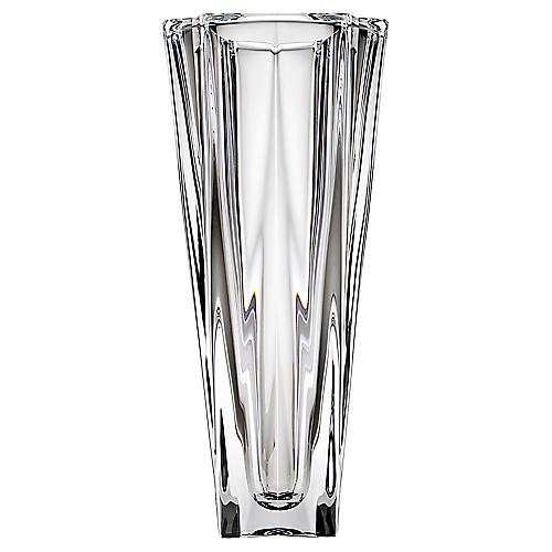 "10"" Mona Crystal Vase, Clear"