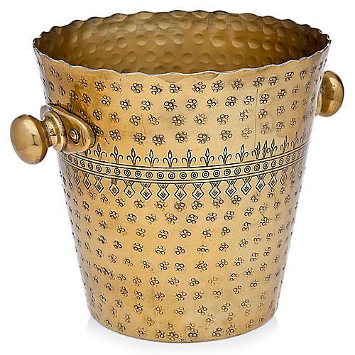 Rubi Wine Cooler, Brass