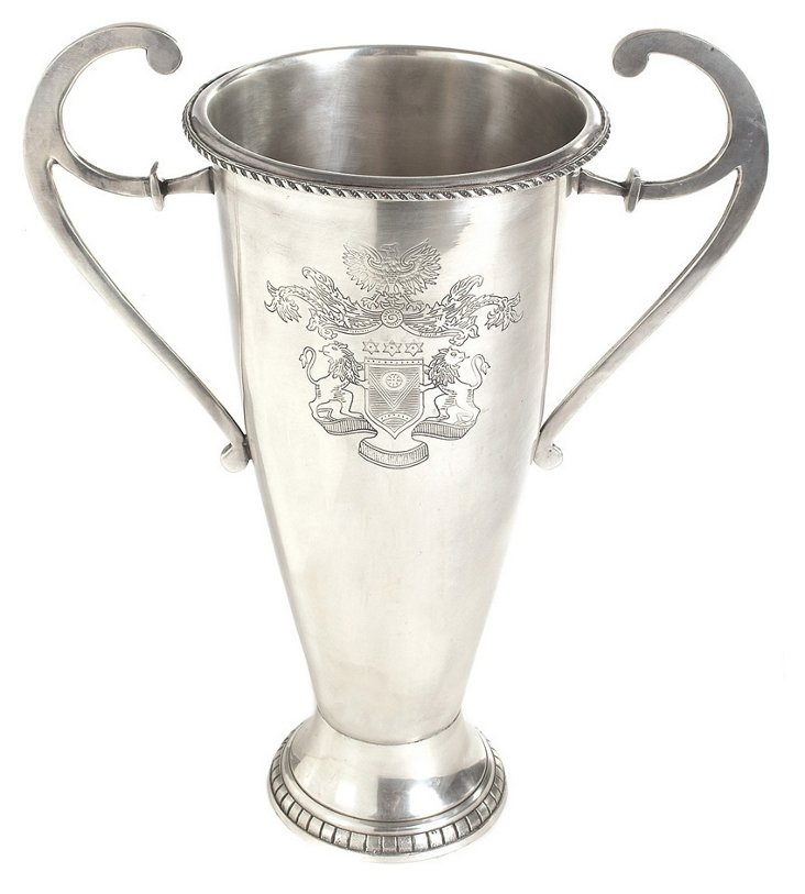 "15"" Etched Trophy, Silver"