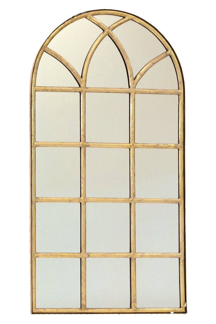 Marciana Oversize Mirror, Gold