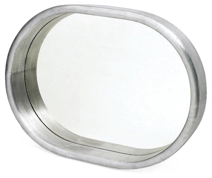 Xenon Oversize Mirror, Silver