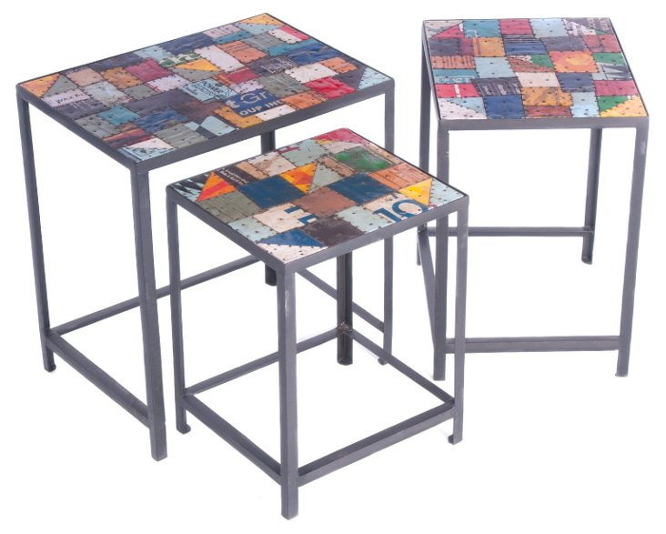 Peyton Nesting Tables, Set of 3