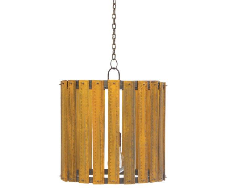 Elementary 1-Light Pendant, Natural