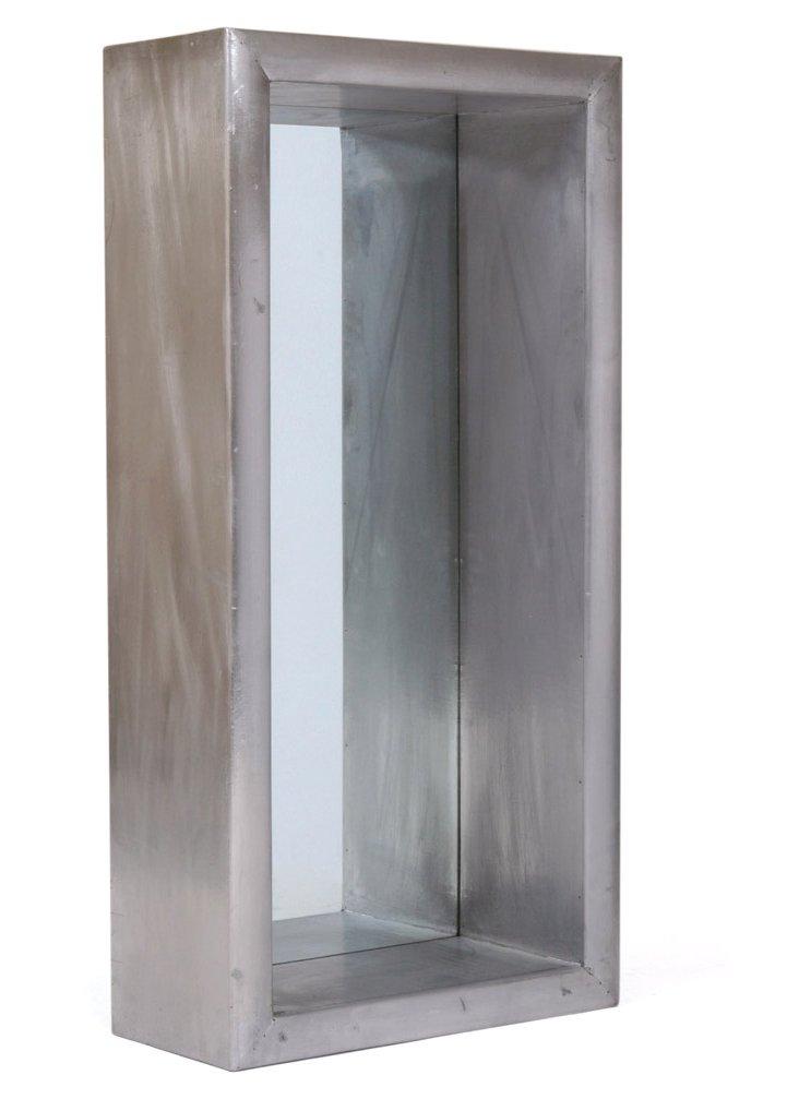Covent Oversize Mirror, Silver