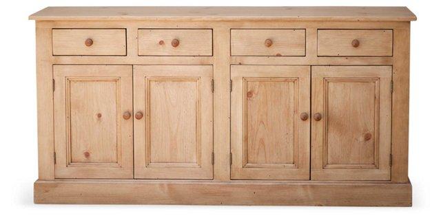 """Welsh 68"""" Dresser Buffet, Natural"""