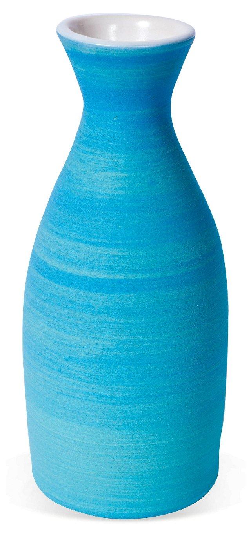 Blue Genie Bottle Vase