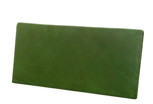Ticket Holder Wallet, Green
