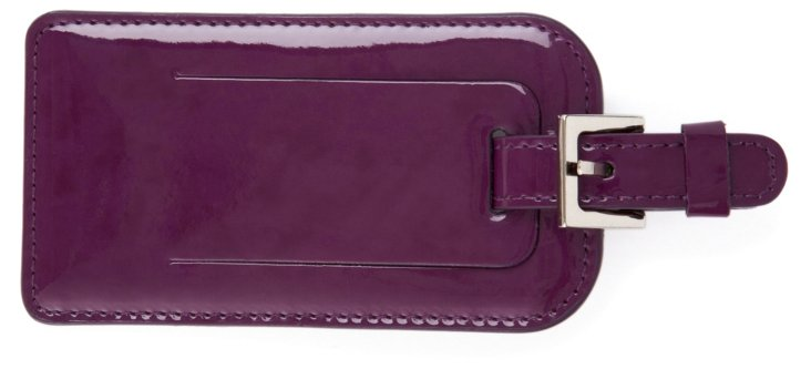 Luggage Tag, Purple