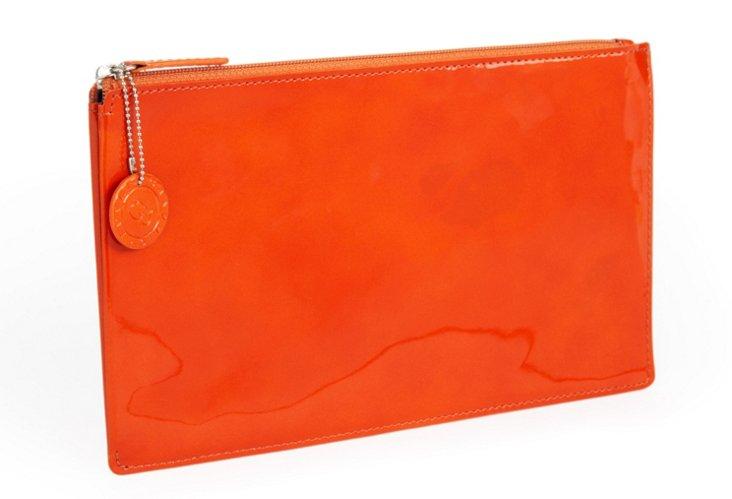 Accessories Pouch, Burnt Orange