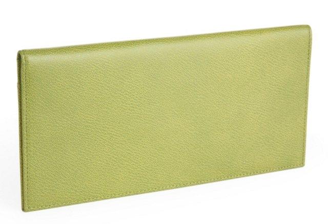 Ticket Holder Wallet, Light Green